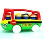 Colectivo 30cm De Largo Con Muñecos Baby Bus 3+
