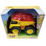 Camion Cat Caterpillar Con Luz Y Sonido Intek
