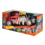 Auto Hot Wheels Extreme Action Motorizado Luces Sonido Intek
