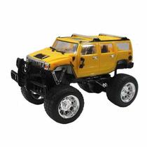 Camioneta Hummer 1:40 Radio Control Recargable Luces Full