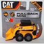 Cat Tractor Niveladora Pala Infantil D Juguete Pull Back 9cm
