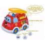 Camion De Bomberos Con Sonidos Y Luces Didactico Y Arrastre