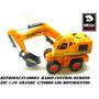 Maquina Excavadora Radio Control Remoto Esc1:20 Pilas Inclui