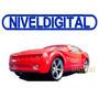 Auto Radio Control Chevrolet Cupe Rc Camaro Luces Delanteras