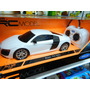 Audi R8 V10 Replica Auto R/c Welly Escala 1:24 Coleccion