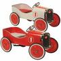 Auto Clasico Antiguo Lujo A Pedal Chapa Madera Casa Valente