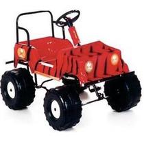 Auto Karting Jeep A Pedal Carrocería Pvc Alto Impacto