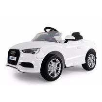 Audi A3 A Batería Blanco Con Control Remoto 12 V Kinderland