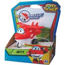 Avion Super Wings Jett A Fricción Intek Jugueterialeon