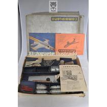 Combiplano Avion Para Armar Tipo Meccano Dec 50 Mib Manual