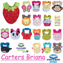 Baberos Carters Impermeables Con Formas
