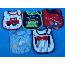 Baberos Importados Tri-capa Para Bebes Y Bebas