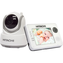 Video Babycall Hitachi Bcm354 Seguimiento Auto Lcd 3.5 Zoom