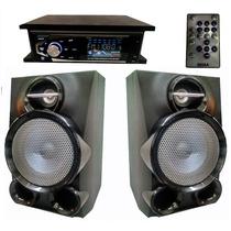 Baffles Lg + Amplificador Remoto P Notebook Pc Celular Tv