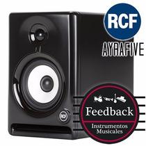 Rcf Ayra Five Monitor De Estudio Profesional Activo 55w C/u