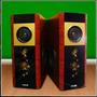 Par De Bafle Potenciado Columnas 2 Entrad Mic-usb-sd-karaoke