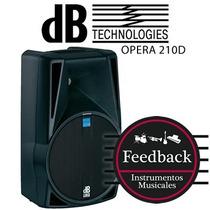 Db Technologies Opera 210d - Bafle Monitor Activo Abs Digipr