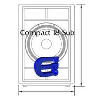 Planos De Sub Low Compact 118 Y 218 - Combo Bajos Das Audio