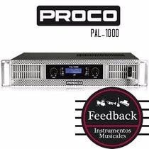 Proco Pal-1000 - Potencia Amplificador C/display