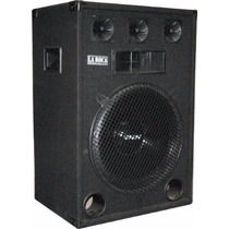 Combo Consola Con Usb 9 Canales Potencia 300w + 2 Bafles 15