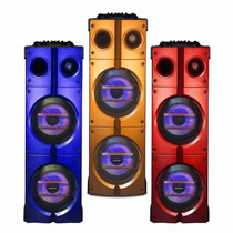 Columna Panacom Sp1775 Sd Usb Fm Bluetooth Eq Ent Microfono