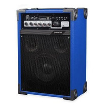 Bafle Amplificado Panacom 3325 Bluethoot Usb, Mic, Eq,25+25