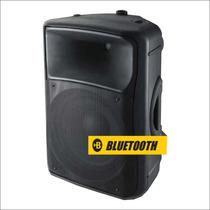 Skp Sk-5p Bt, Bafle Potenciado, Bluetooth, 2 Vias, 250w Rms