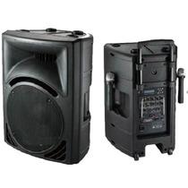 Bafles Gbr Pl-1590 Activo/ Bateria