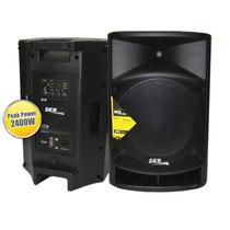 Caja Potenciada Skp Sk-9p 2400 Watts 600 Rms