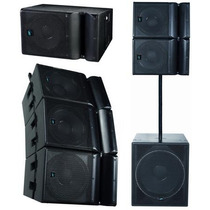 Sistema Line Array E-sound Ml-15 700w - Das - Electro - Aero