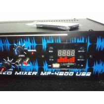 Combo Karaoke,consola Altech Mp 4200 Usb + 2 Bafles
