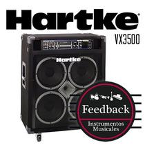 Hartke Systems Vx3500 - Amplificador P/bajo 350w/4 + Caja Vx