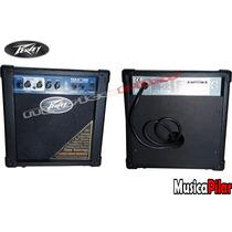 Amplificador Bajo Peavey Max 126 10 Watts Musica Pilar