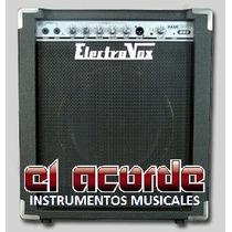 Amplificador P/bajo Electrovox B60 60w - El Acorde - Pacheco