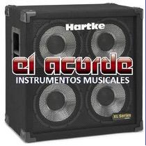 Caja 4x10 Hartke 400w Cono Aluminio - El Acorde - Pacheco