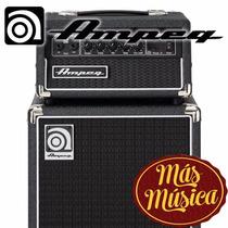Ampeg Micro-cl Cabeza Y Caja Para Bajo 100w Parlante 2x10