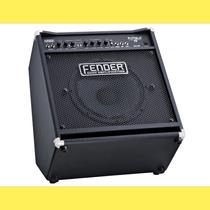 Amplificador De Bajo Fender Rumbre 75w Combo 1x12 Till Back