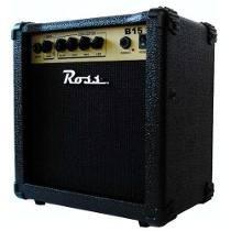 Amplificador Bajo 15w Rms Ross B15 Económico 15b