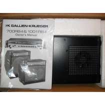 Cabezal Gallien Krueger Rb 1001 Made In Usa
