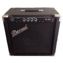 B40 Amplificador Para Bajo Decoud 40w Rms Con Parlante 12