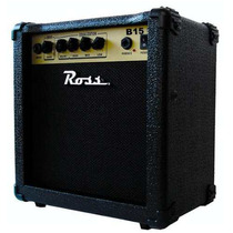 Amplificador De Bajo Ross B15 15 Watts Musica Pilar