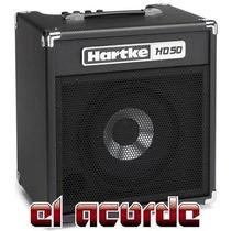 Amplificador P/bajo Hartke Hd50 50w - El Acorde Pacheco