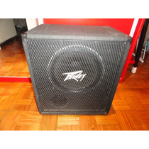 Caja De Bajo Peavey Bx115 Made In Usa Parlante Black Widow