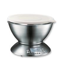 Balanza De Cocina Electronica Acero Inox 3kg Lcd Luz Timer