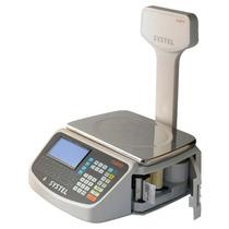 Balanza Electrónica Systel Cuora 30kg C/mástil E Impresor