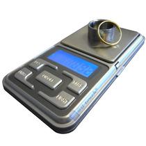 Mini Balanza Digital 0.1 A 500 Grs. Visor De Led Con Luz