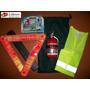 Kit Reglamentario Emergencia Y Seguridad Del Automovil 5 X 1
