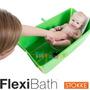 Flexibath Bañadera Plegable Bebe Bañera Plastico Flexi Bath