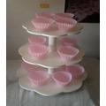 Torre Porta Cupcakes Madera