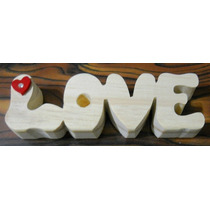 Love - Joyas Artesanales En Madera Maciza -